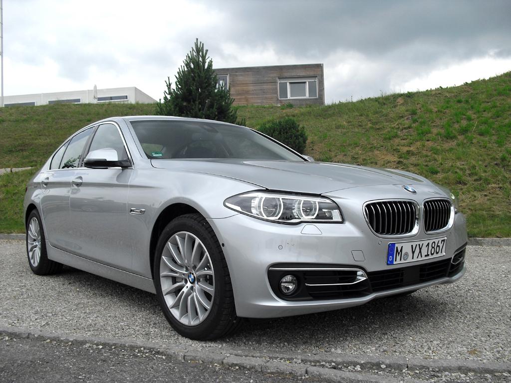 BMW 5er, hier als Limousine.