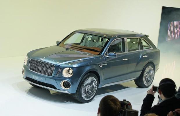 Bentley kündigt SUV an - Superkräfte und Superluxus