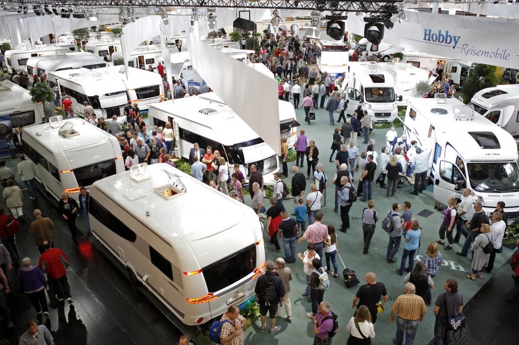Caravan Salon seit 20 Jahren in Düsseldorf