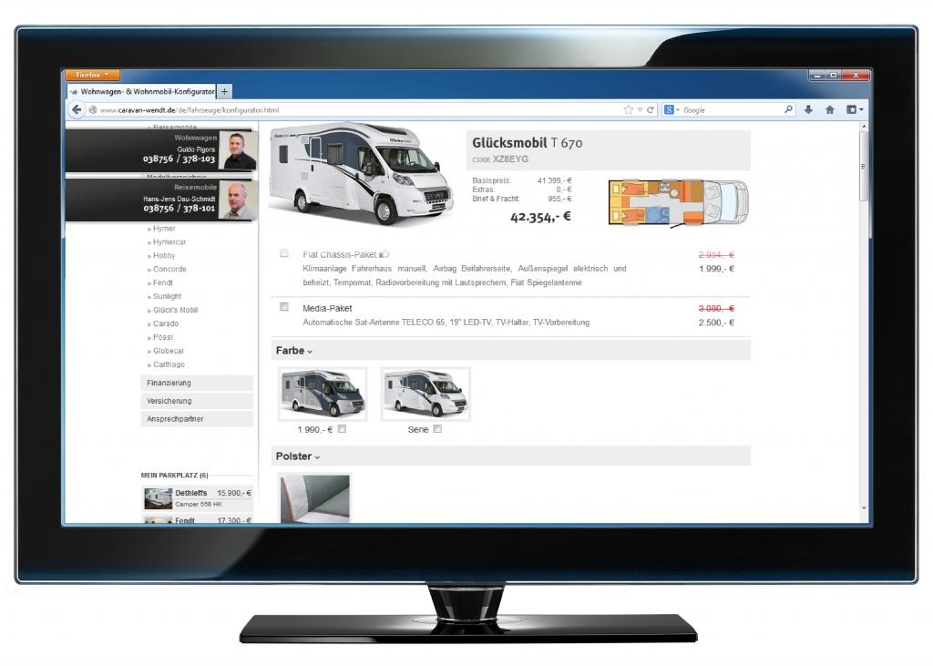 Caravan-Wendt startet mit neuem Freizeitfahrzeug-Konfigurator