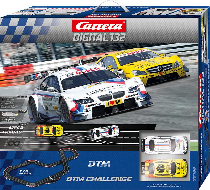 Carrera holt die DTM an den Drücker