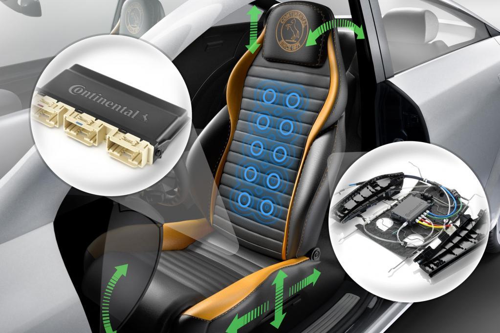 Continental: Smartphone steuert Autositz