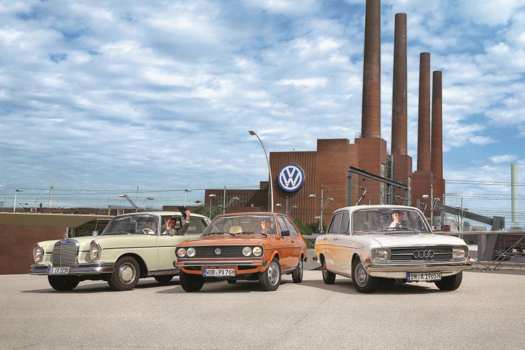 Daimler, Audi und VW verbindet eine gemeinsame Geschichte