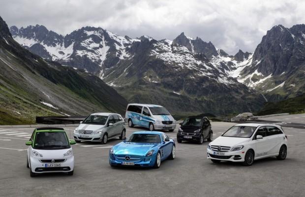 Daimler ist Marktführer bei Elektro-Pkw