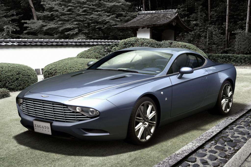 Das DBS Coupé Zagato Centennial entwarfen die Designer zum 100. Geburtstag von Aston Martin