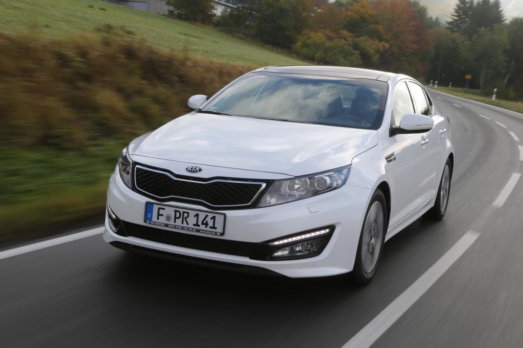 Der Kia Optima Hybrid ist der erste Europa-Hybrid der Koreaner