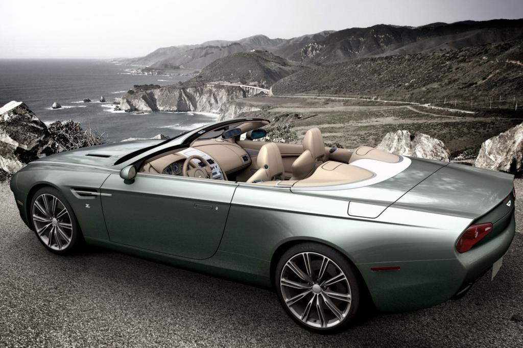 Der offene DB9 Spyder Zagato Centennial geht an den amerikanischen Aston-Martin-Sammler Peter Read