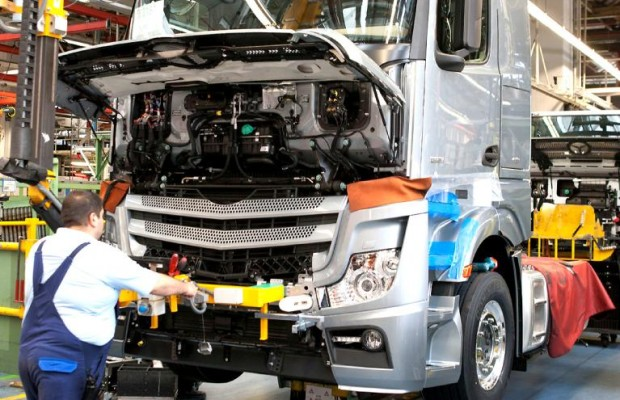 Deutscher Lkw-Markt weiter auf Talfahrt