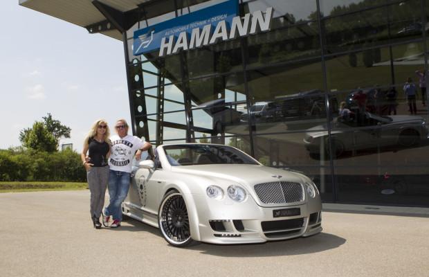 Die Geissens holen Hamann-Bentley ab