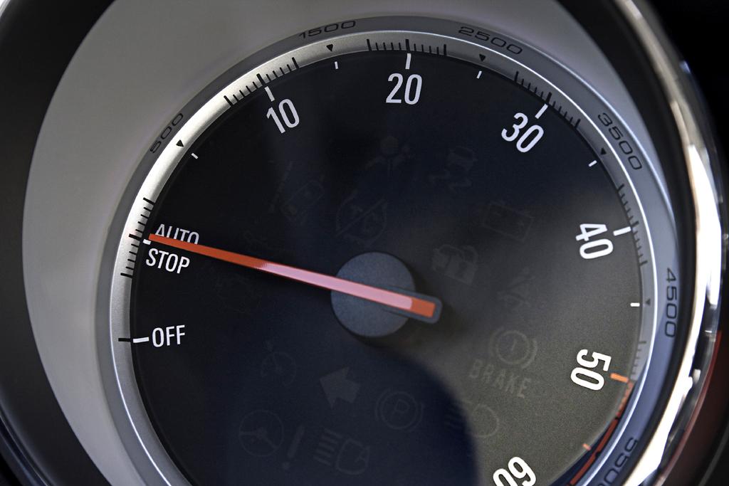 Die Stopp/Start-Automatik hilft beim Spritsparen.
