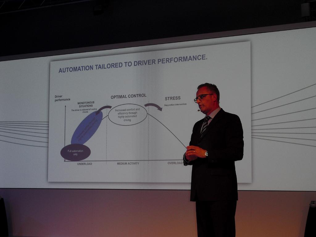 Dr. Werner Huber beim BMW-Workshop