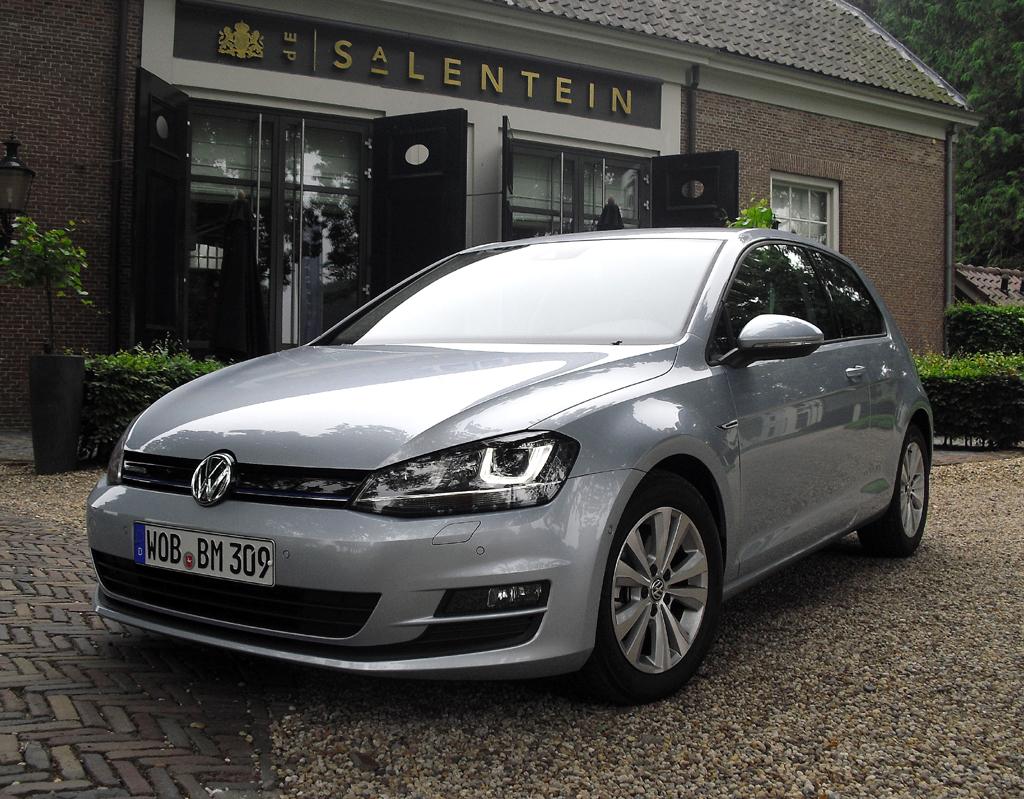 Effizient, trotzdem flott: VW hat neuen Drei-Liter-Bluemotion-Golf am Start