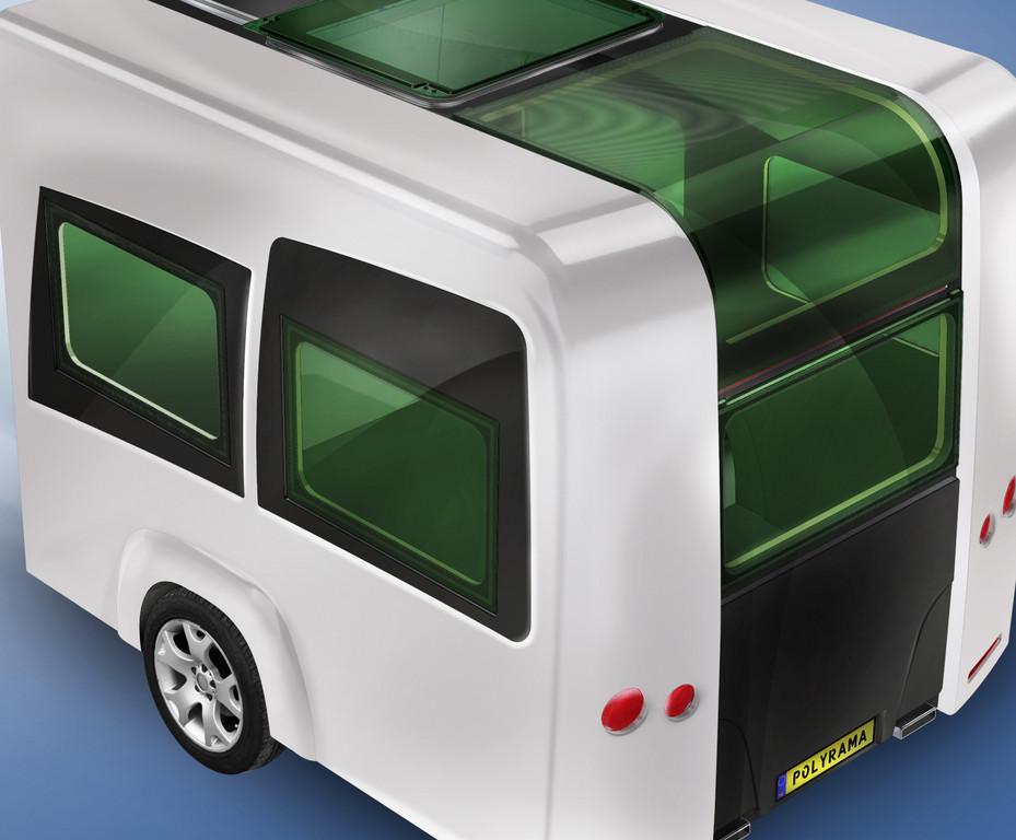 Elektrisches Schiebedach für Reisemobile