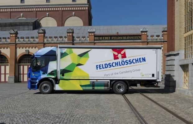 Elektro-Lkw feiert in der Schweiz Weltpremiere