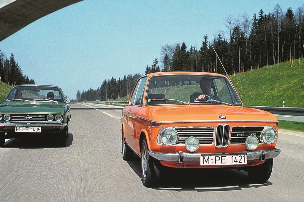 Ende der Sechziger, Anfang der Siebziger kam am BMW 02 Colorado-Orange auf