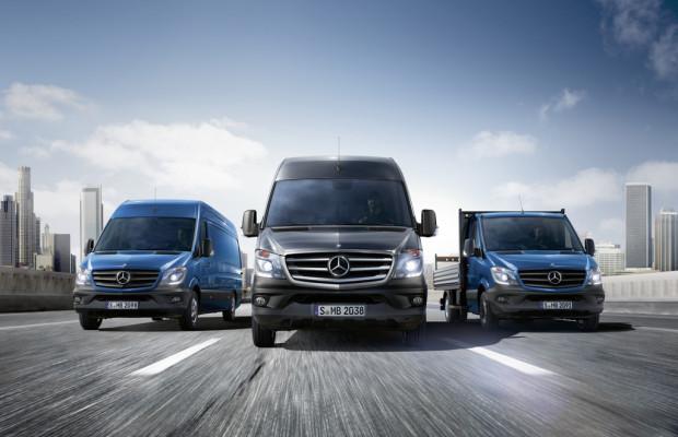 Erster Mercedes-Benz Sprinter in Düsseldorf produziert
