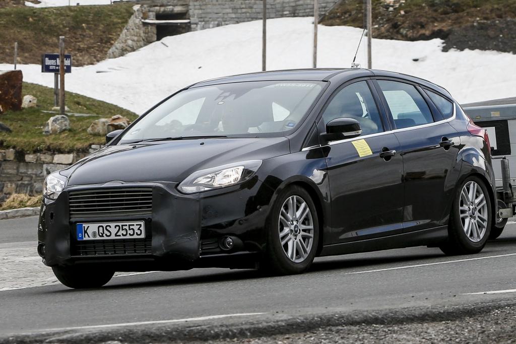 Erwischt: Erlkönig Ford Focus Facelift – Optik im Fokus