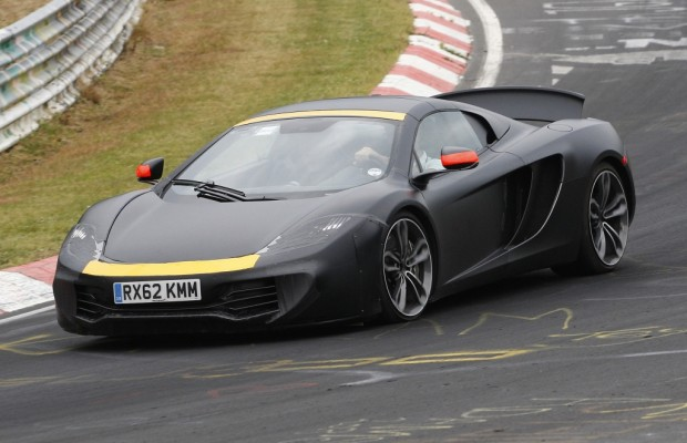 Erwischt: Erlkönig McLaren 12C – Er lässt langsam die Hüllen fallen