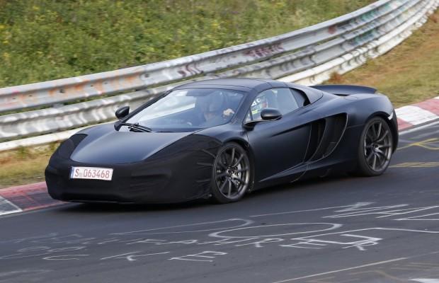 Erwischt: Erlkönig McLaren C12 Facelift – Hier gibt es nichts zu  sehen …