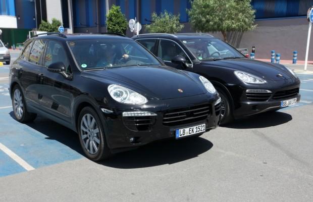 Erwischt: Erlkönig Porsche Cayenne - Facelift für den Bestseller