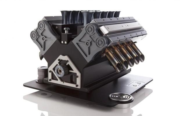 Espresso aus V12-Motor - Von Null auf koffeiniert in kürzester Zeit