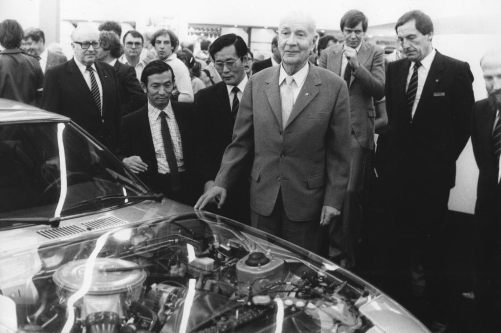 Felix Wankel Erfinder des Kreiskolbenmotors