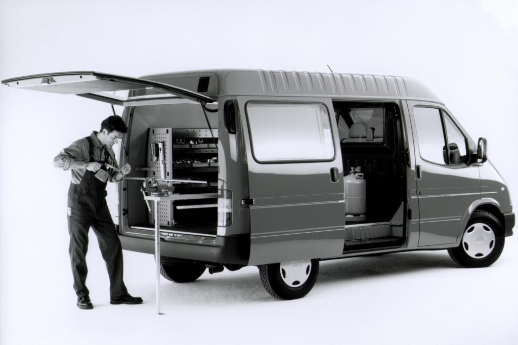 Ford Transit Service Line 1986