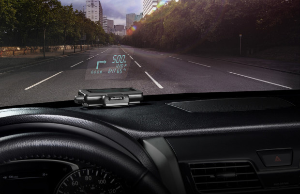 Garmin bietet Head-Up-Display an