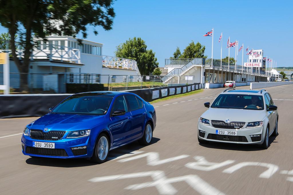 Goodwood: Weltpremiere für Skoda Octavia RS