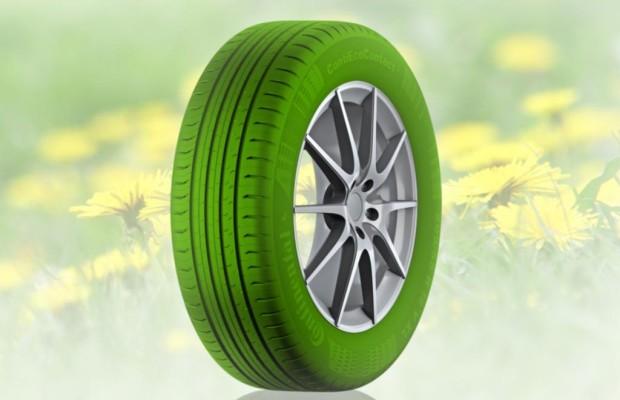 Grüner Reifen - Der fährt mit Gummi aus Löwenzahn