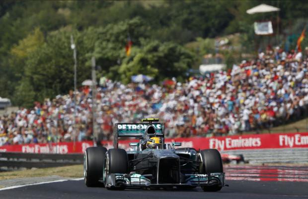 Hamilton triumphiert in Ungarn
