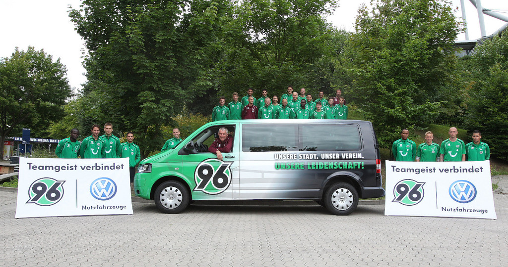 Hannover 96 und Volkswagen verlängern Partnerschaft