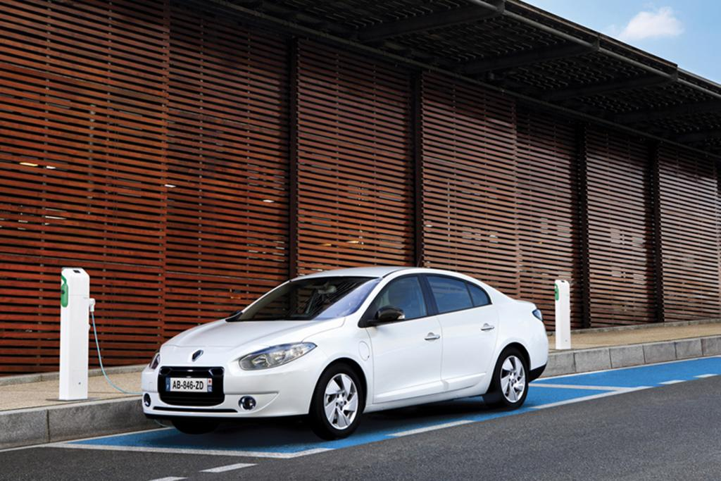 Hauptsächlich für gewerbliche Kunden gedacht ist der Renault Fluence Z.E