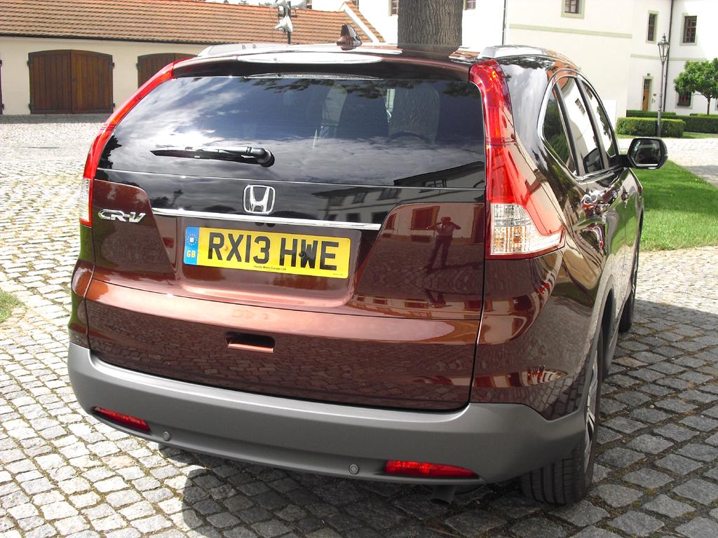 Honda CR-V: Blick auf die Heckpartie.