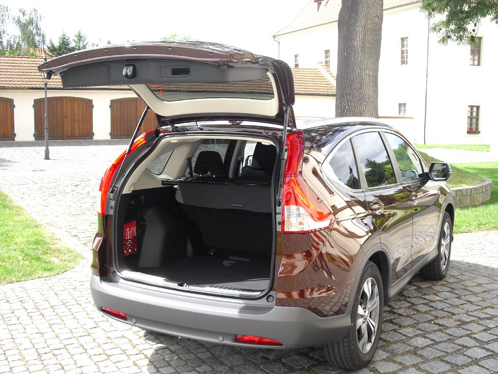 Honda CR-V: Das Gepäckabteil fasst stattliche 589 bis 1669 Liter.