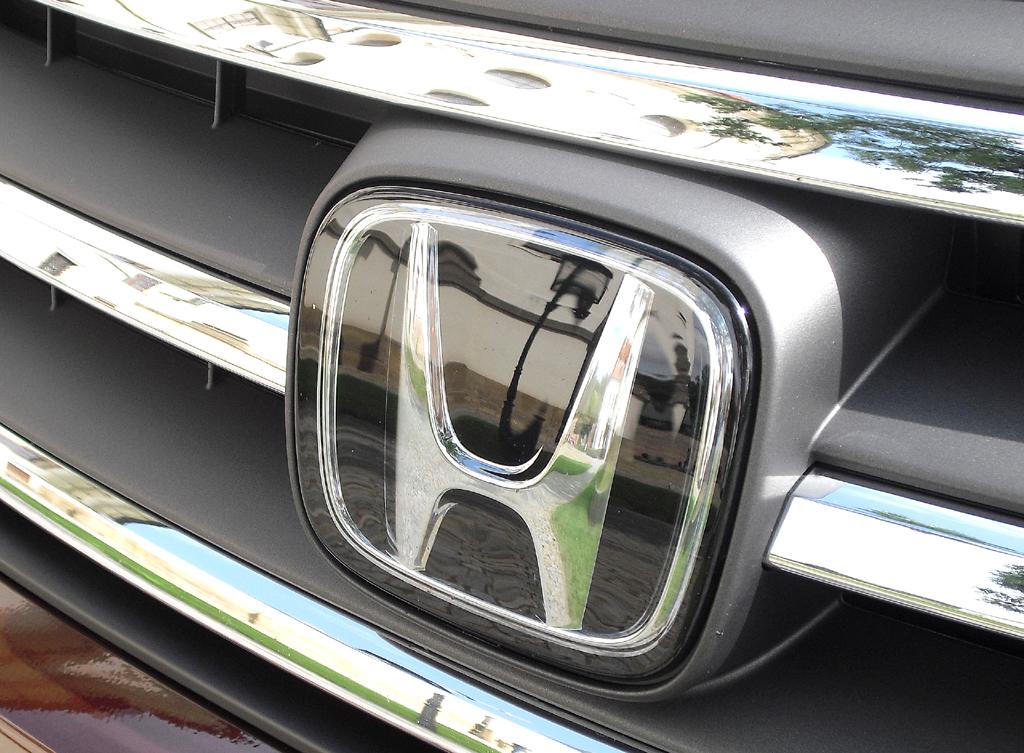 Honda CR-V: Das Markenlogo sitzt vorn mittig im Kühlergrill.