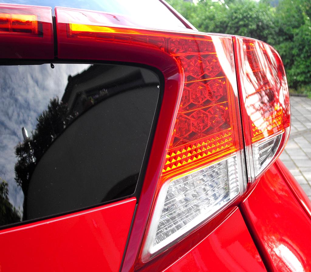 Honda Civic: Gestaltung und Platzierung der Rückleuchten sind etwas ungewöhnlich.