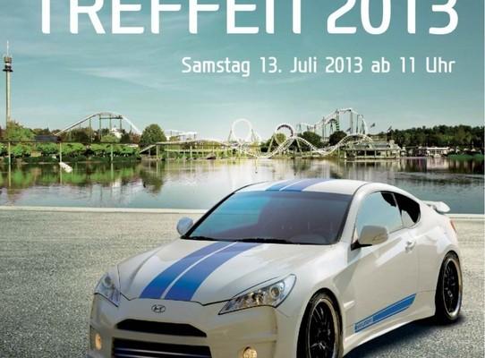 Hyundai-Treffen im Heide-Park