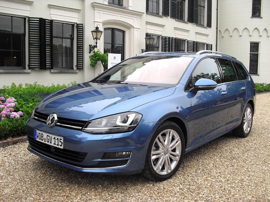 Im Kombiland Deutschland nicht unwichtig: VW Golf Variant.