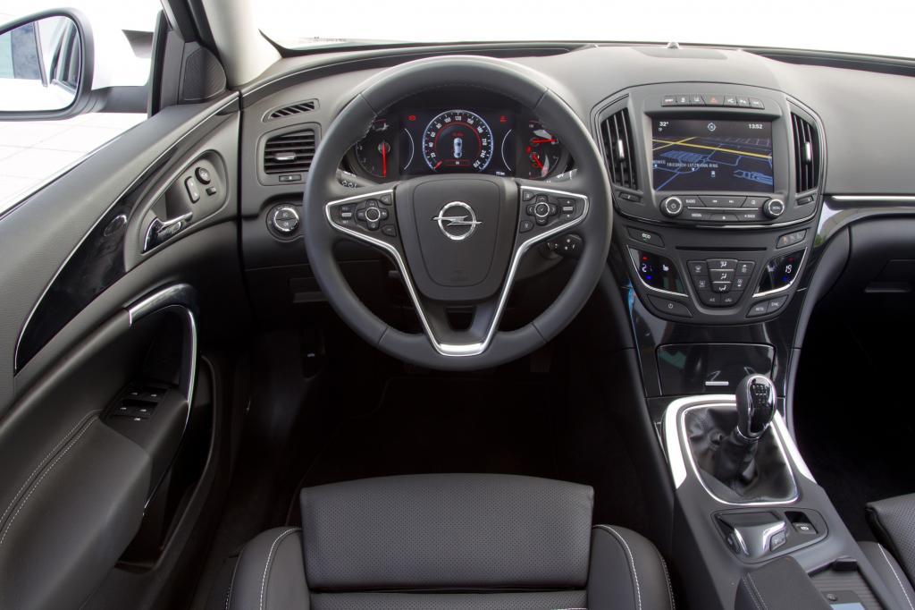 Infotainment im Opel Insignia - Weniger bringt mehr