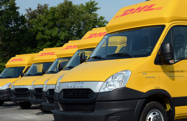 Iveco liefert 28 Daily Electric an DHL