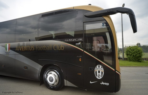 Juventus Turin ist auf Goodyear Marathon Coach unterwegs