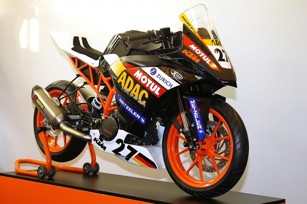 KTM stellt RC 390 für ADAC Junior Cup