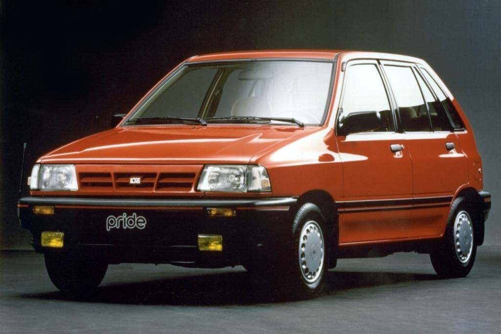 Kia Pride Schwestermodell des Mazda 121