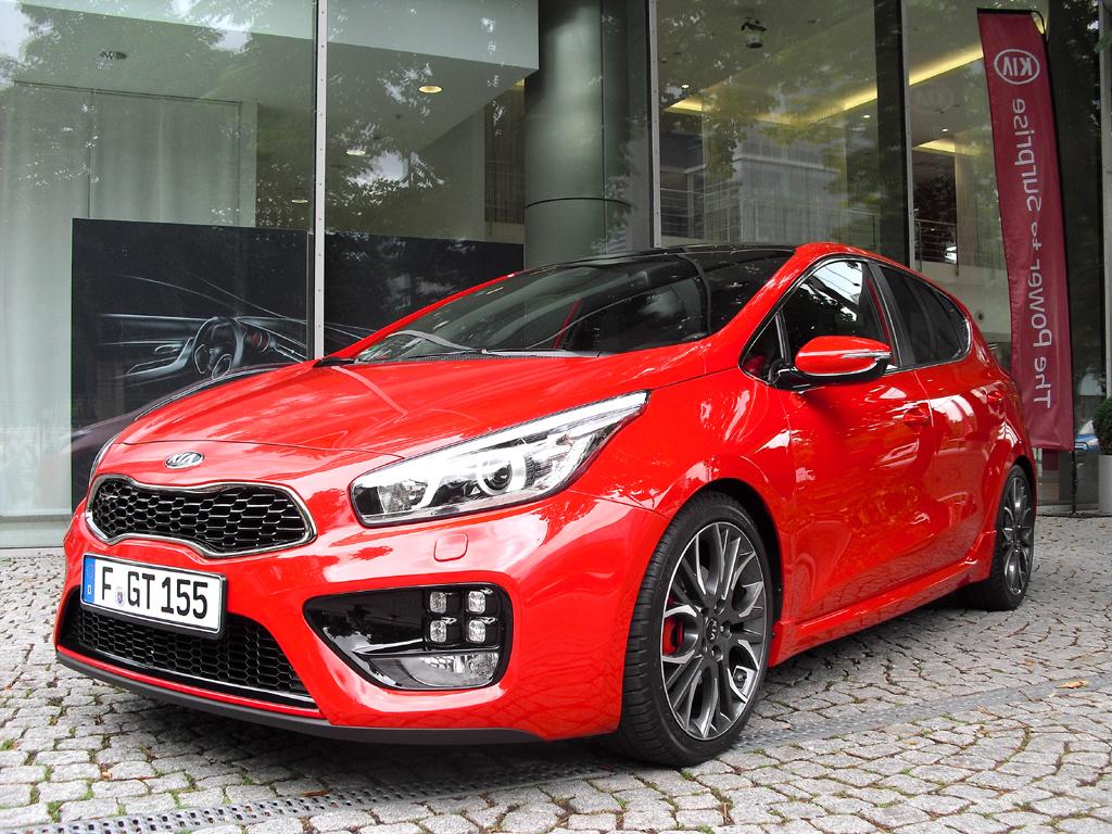 Kias Cee'd GT baut auf dem Kompaktmodell der Koreaner auf.