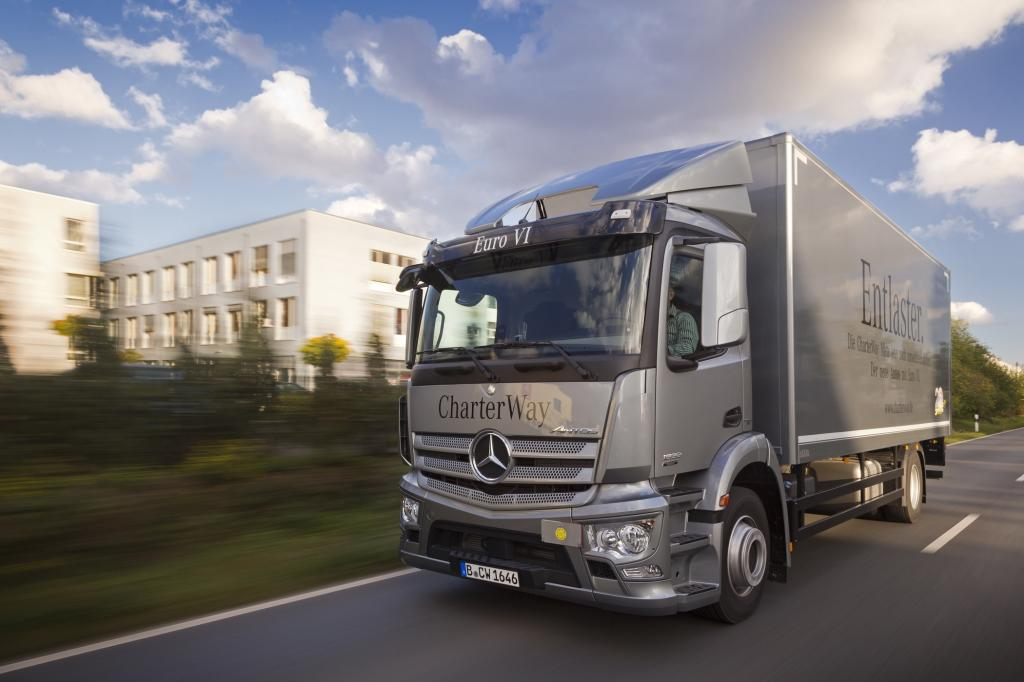 Lkw-Maut - Sauber fährt billiger
