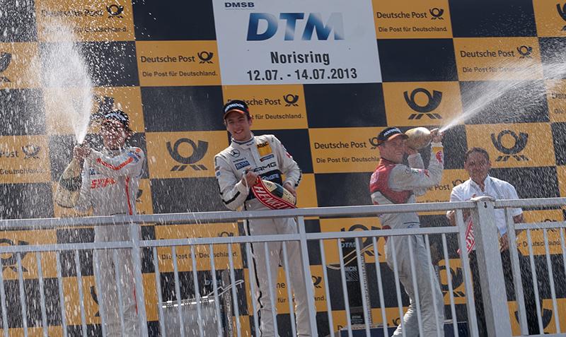 Mattias Ekström verliert Norisring-Sieg