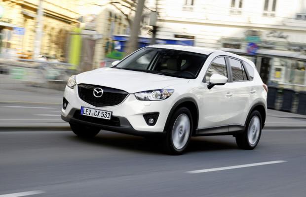 Mazda wächst im Juni um 7,7 Prozent