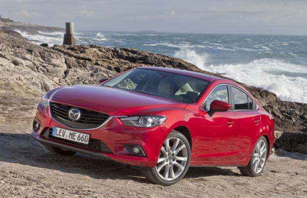 Mazda6 Fahrer bevorzugen Rot