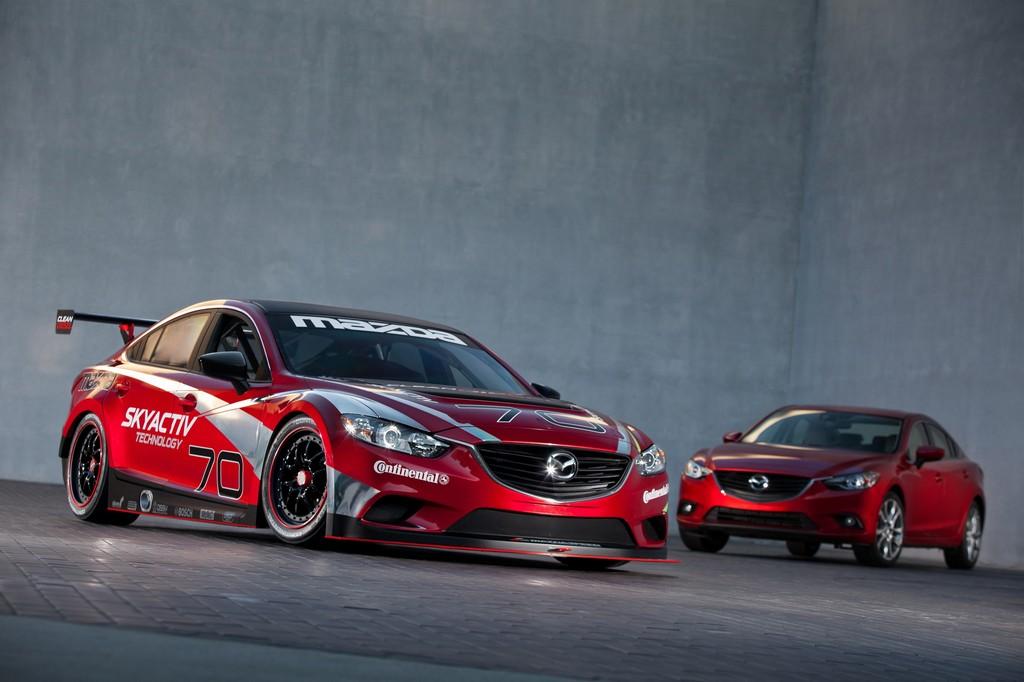 Mazda6 gewinnt als erster Diesel in Indianapolis